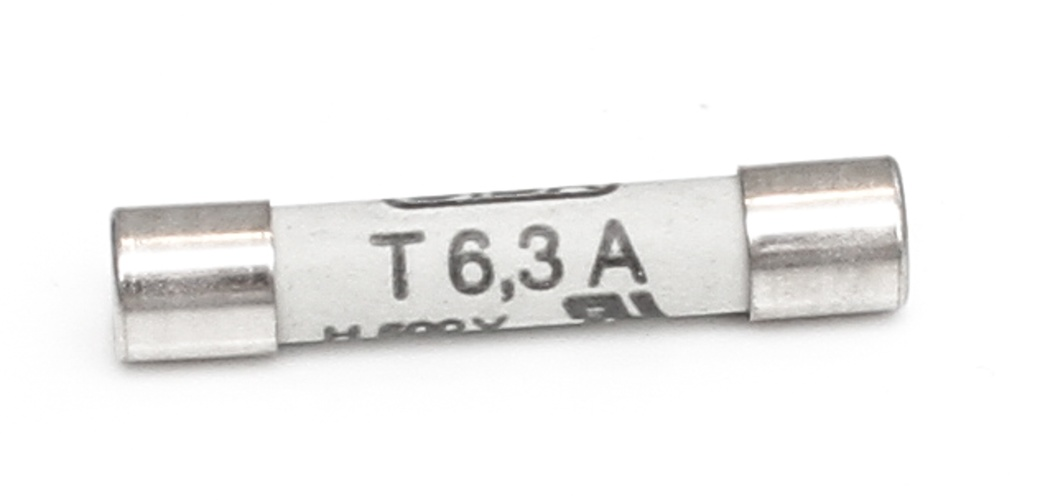 Fuse 6.35x32mm As of 06/1997 6,3A